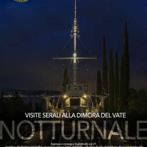 EVENING VISITS TO THE DIMORA DEL VATE