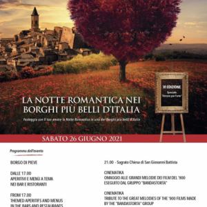 THE ROMANTIC NIGHT OF THE MOST BEAUTIFUL VILLAGES IN ITALY